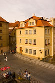 town stock photography | Czech Republic, Prague, Mala Strana square, image id 4-960-605