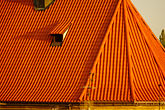red tile stock photography | Czech Republic, Prague, TIled roof of St Nicholas Church, Stare Mesto, image id 4-960-6392