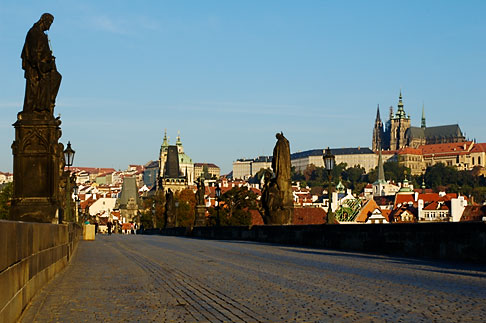 image 4-960-6814 Czech Republic, Prague, Charles Bridge