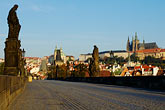 vlatava river stock photography | Czech Republic, Prague, Charles Bridge, image id 4-960-6814
