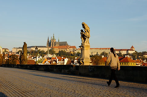 image 4-960-6825 Czech Republic, Prague, Charles Bridge