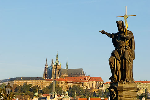 image 4-960-6834 Czech Republic, Prague, Charles Bridge