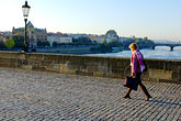 on foot stock photography | Czech Republic, Prague, Charles Bridge, image id 4-960-6844