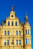 architecture stock photography | Czech Republic, Ceske Budejovice, Hotel on Main Square, image id 4-960-6960