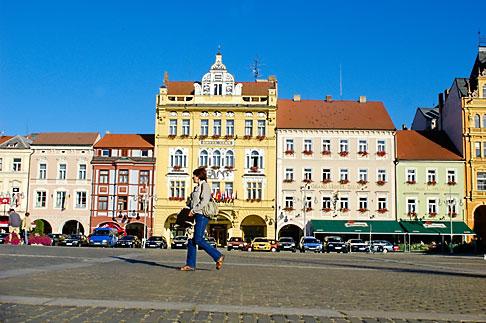 image 4-960-6965 Czech Republic, Ceske Budejovice, Main Square