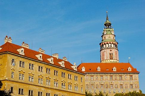 image 4-960-7156 Czech Republic, Cesky Krumlov, Cesky Krumlov castle