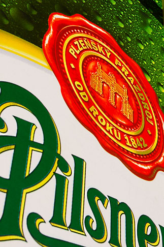 image 4-960-7292 Czech Republic, Czech, Pilsner sign