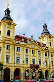 history stock photography | Czech Republic, Pisek, Town Hall, image id 4-960-7330