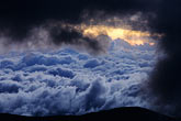 sky stock photography | Ecuador, Sunset on Chimborazo, image id 2-24-36