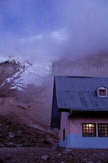 2-25-4  stock photo of Ecuador, Whymper Refuge at 16,400 on Chimborazo