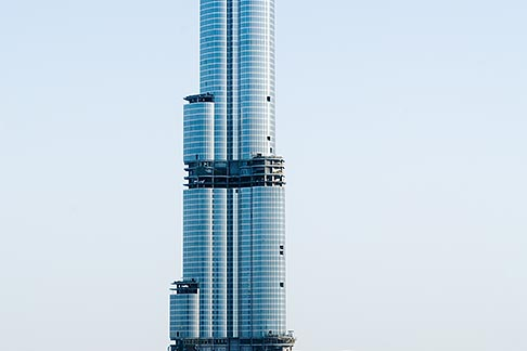 image 8-730-1512 United Arab Emirates, Dubai, Burj Dubai tower, as of May 2008 the tallest man made structure on Earth