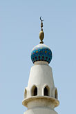 facade stock photography | United Arab Emirates, Dubai, Minaret, Iranian Mosque, image id 8-730-1588