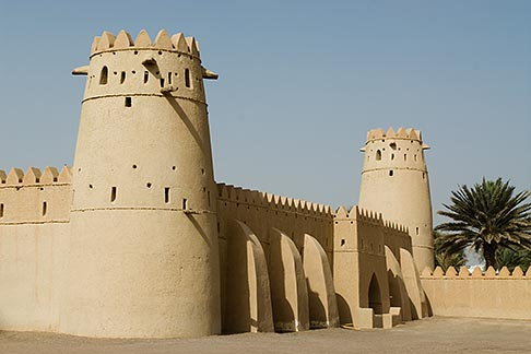 image 8-730-1764 United Arab Emirates, Abu Dhabi, Al Ain, Al Jahili Fort, built in 1898