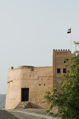 image 8-730-1967 United Arab Emirates, Fujairah, Fujairah Fort, built in 1670, oldest fort in the Emirates