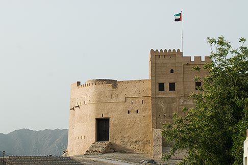 image 8-730-1968 United Arab Emirates, Fujairah, Fujairah Fort, built in 1670, oldest fort in the Emirates