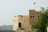 uae stock photography | United Arab Emirates, Fujairah, Fujairah Fort, built in 1670, oldest fort in the Emirates, image id 8-730-1968