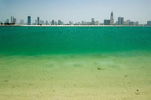 image 8-730-316 United Arab Emirates, Sharjah, Harbor and City Skyline