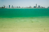 turquoise stock photography | United Arab Emirates, Sharjah, Harbor and City Skyline , image id 8-730-316