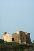 vertical stock photography | United Arab Emirates, Fujairah, Fujairah Fort, built in 1670, oldest fort in the Emirates, image id 8-730-396