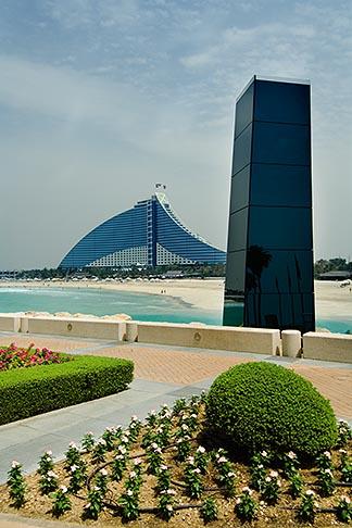 image 8-730-554 United Arab Emirates, Dubai, Jumeira Beach Hotel from Burj Al Arab