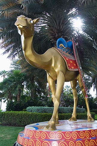 image 8-730-647 United Arab Emirates, Dubai, Burj Al Arab, Camel statue
