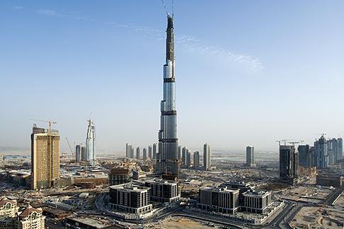 image 8-730-9041 United Arab Emirates, Dubai, Burj Dubai construction site
