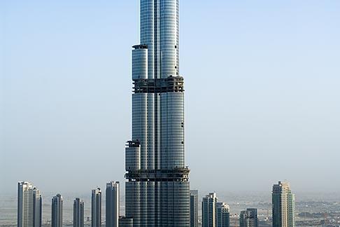 image 8-730-9062 United Arab Emirates, Dubai, Burj Dubai tower, as of May 2008 the tallest man made structure on Earth