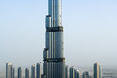 above stock photography | United Arab Emirates, Dubai, Burj Dubai tower, as of May 2008 the tallest man-made structure on Earth, image id 8-730-9062