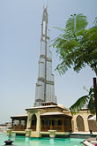 tree stock photography | United Arab Emirates, Dubai, Burj Dubai, and Al Manzil hotel pool, image id 8-730-9222