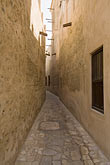 narrow street stock photography | United Arab Emirates, Dubai, Alleyway, Bastakiya Quarter, restored historic site, image id 8-730-9353