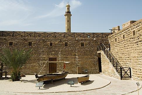 image 8-730-9414 United Arab Emirates, Dubai, Dubai Museum, interior courtyard