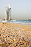 facade stock photography | United Arab Emirates, Dubai, Burj Al Arab from Jumeirah Beach, image id 8-730-9531