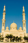 religion stock photography | United Arab Emirates, Dubai, Mosque and minarets, image id 8-730-9613
