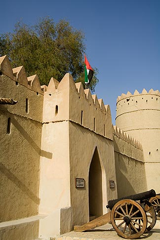 image 8-730-9792 United Arab Emirates, Abu Dhabi, Al Ain, Sultan Bin Zayed Fort Eastern Fort