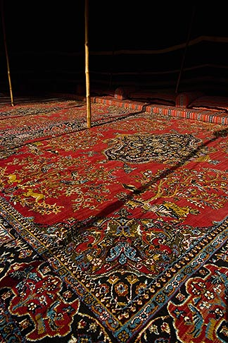 image 8-730-9814 United Arab Emirates, Abu Dhabi, Traditional carpets, Al Ain National Museum
