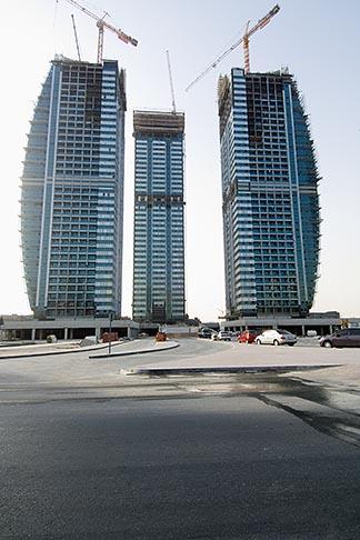 image 8-730-9894 United Arab Emirates, Dubai, Dubai Marina, construction site