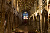 horizontal stock photography | England, Chester, Chester Cathedral, Nave, image id 7-695-23
