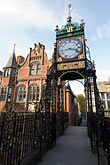 vertical stock photography | England, Chester, Eastgate Clock, image id 7-695-70