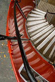 vertical stock photography | England, Chester, Circular stairway on antique bus, image id 7-695-9925