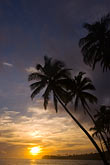sunset near korotogo stock photography | Fiji, Viti Levu, South Coast near Korotogo, image id 5-610-2801