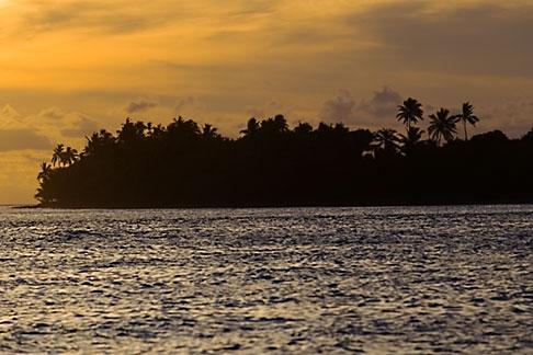 image 5-610-9308 Fiji, Viti Levu, Sunset near Korotogo