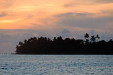 getaway stock photography | Fiji, Viti Levu, Sunset near Korotogo, image id 5-610-9325