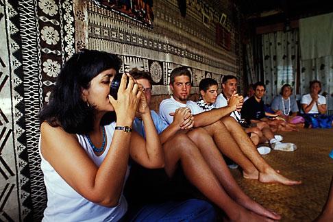 image 9-530-32 Fiji, Kava ceremony, Nausori village