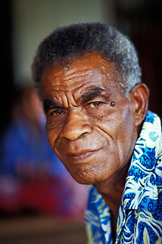 image 9-530-60 Fiji, Chief, Nausori village