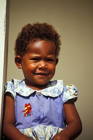 image 9-530-76 Fiji, Young girl, Nausori Highlands