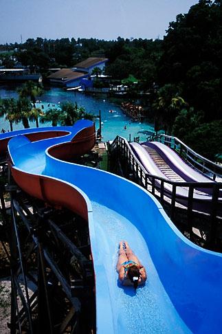 image 2-466-17 Florida, Weeki Wachee Springs, Weeki Wachee Springs, Buccaneer Bay water park