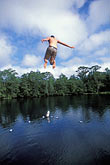 one person stock photography | Florida, Tallahassee area, Wakulla Springs State Park, image id 2-530-18