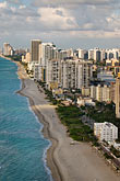 beach stock photography | Florida, Miami, Miami Beach, aerial photo, image id 7-672-6768