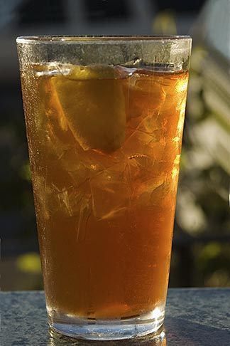 image 4-775-6153 Food and drink, Iced tea in glass