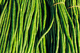 colour stock photography | Food, Green beans, image id 5-356-28